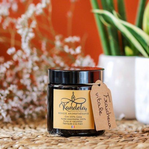 Bougie aromathérapie Fraîcheur vitale