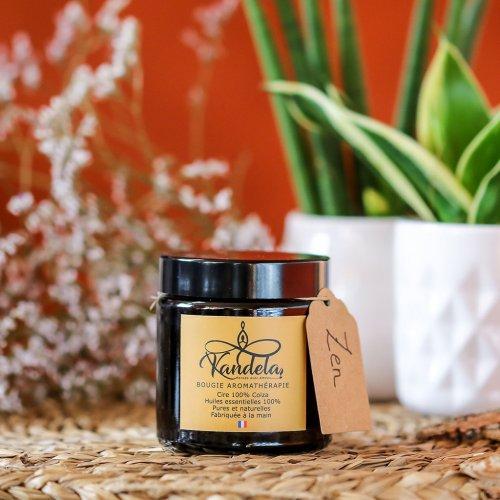Bougie aromathérapie Zen