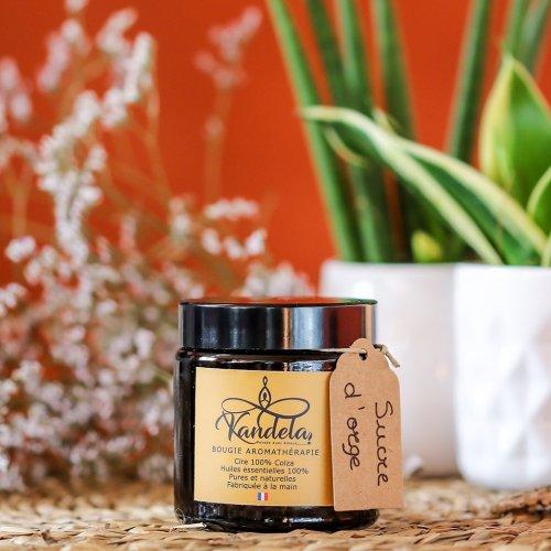 Bougie aromathérapie Sucre d'orge