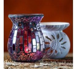 Brûle-parfum éclat violet