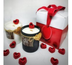 Coffret Saint Valentin rouge