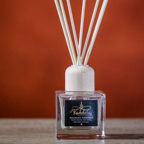 Bouquet parfumé herbe fraîchement coupée